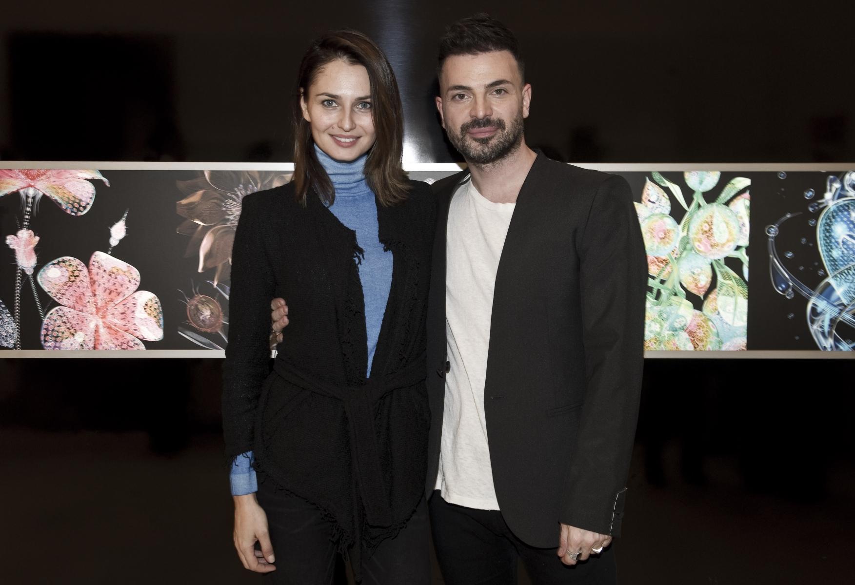 Anna Safroncik e Simone Belli
