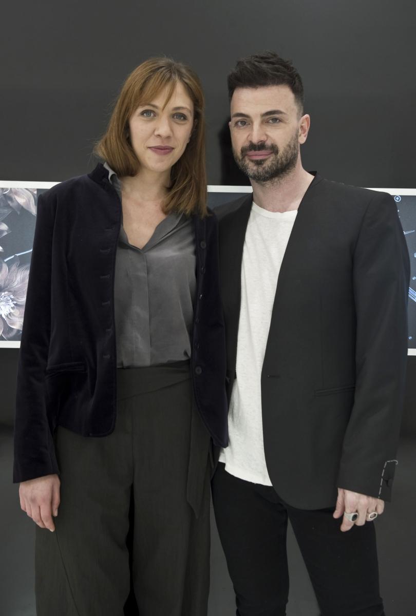 Barbara Chichiarelli e Simone Belli