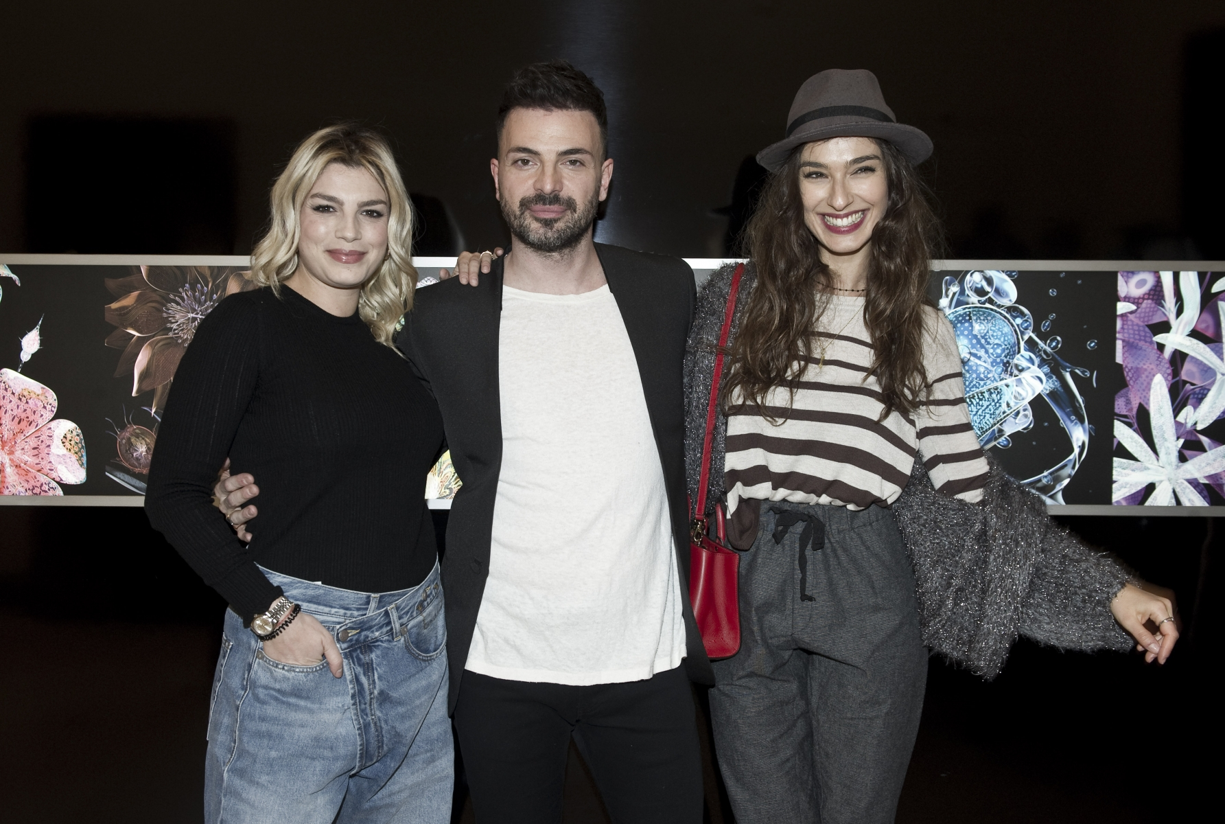 Emma Marrone, Simone Belli e Stella Egitto