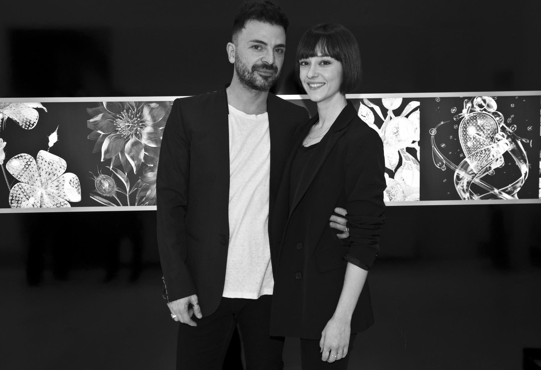 Simone Belli e Marta Gastini