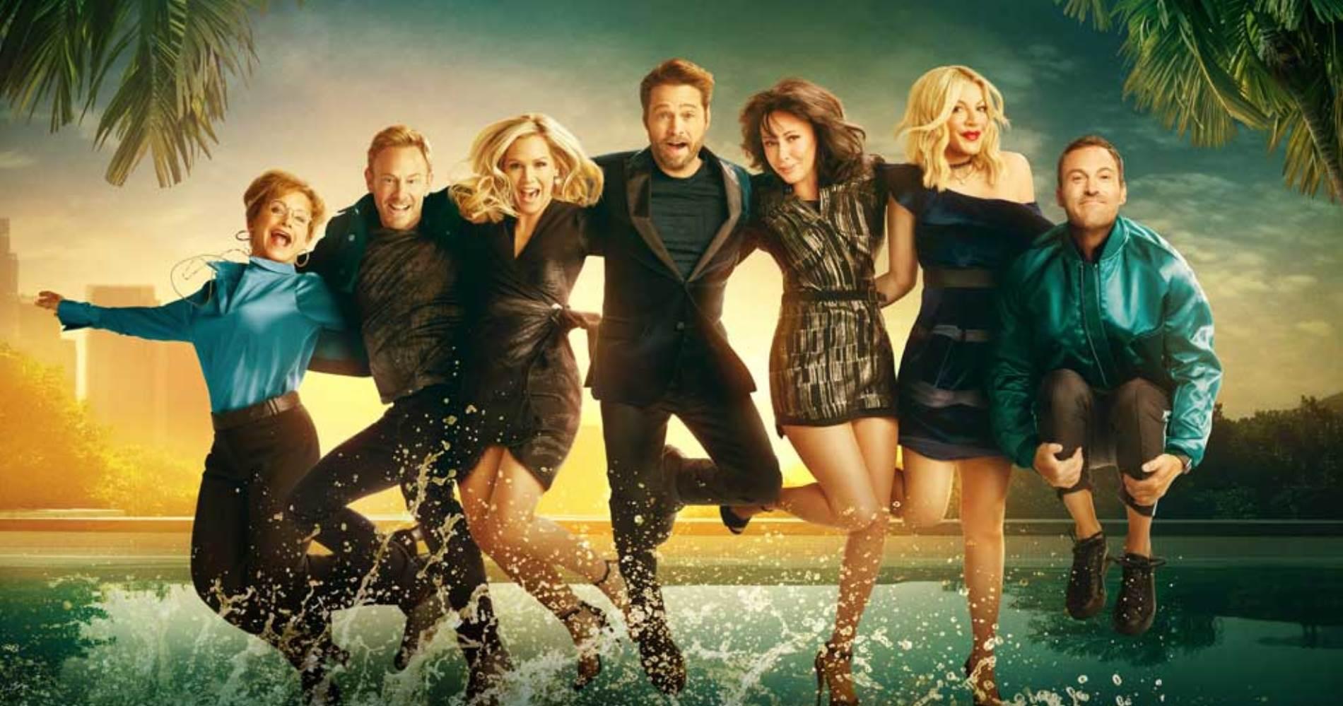 """<span class=""""entry-title-primary"""">Beverly Hills 90210: alla scoperta del revival nel ricordo di Luke Perry</span> <span class=""""entry-subtitle"""">Gli aspetti più e meno convincenti del revival che ha debuttato su FOX mercoledì 7 agosto. </span>"""
