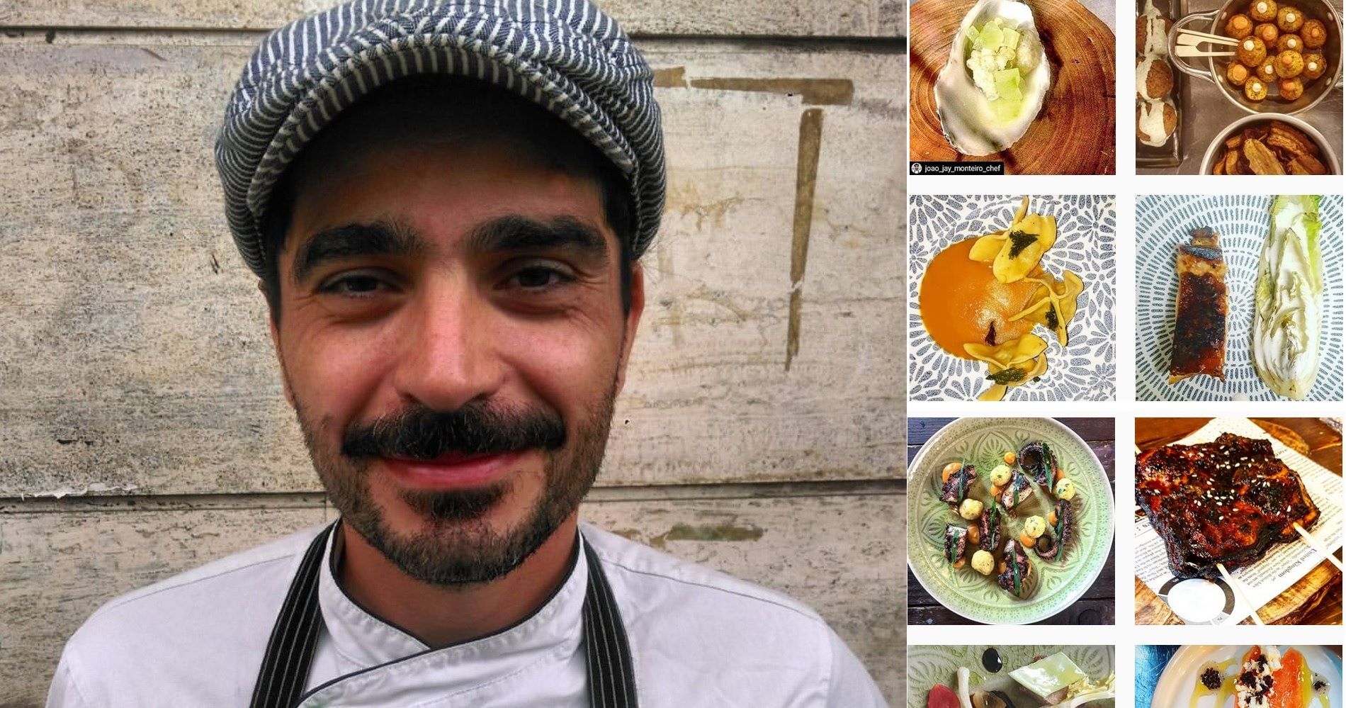 """<span class=""""entry-title-primary"""">Puntata in cucina: intervista allo chef Joao Monteiro</span> <span class=""""entry-subtitle"""">Lo chef di origini portoghesi racconta i numerosi aspetti della sua variegata cucina e la paragona a un bel film a lieto fine.</span>"""